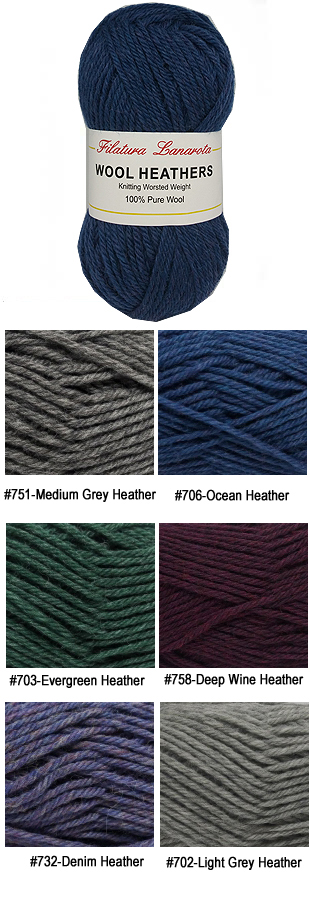 Filatura Lanarota Wool Heathers Smileys Yarns